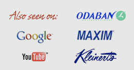 As Seen On Google, Odaban, Maxim, YouTube, Kleinerts